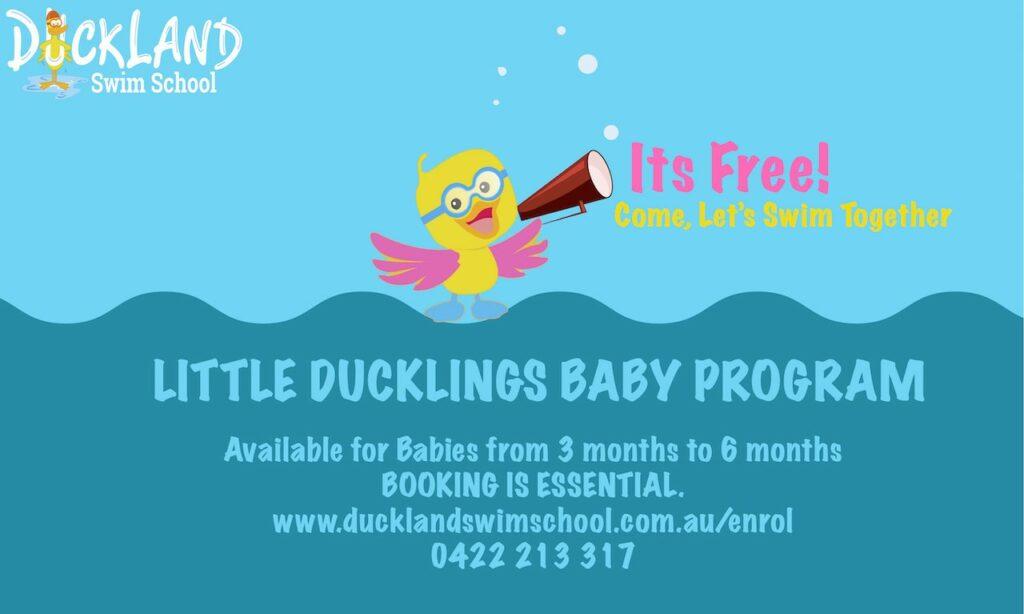 Free Swim Trial Duckland Swim school